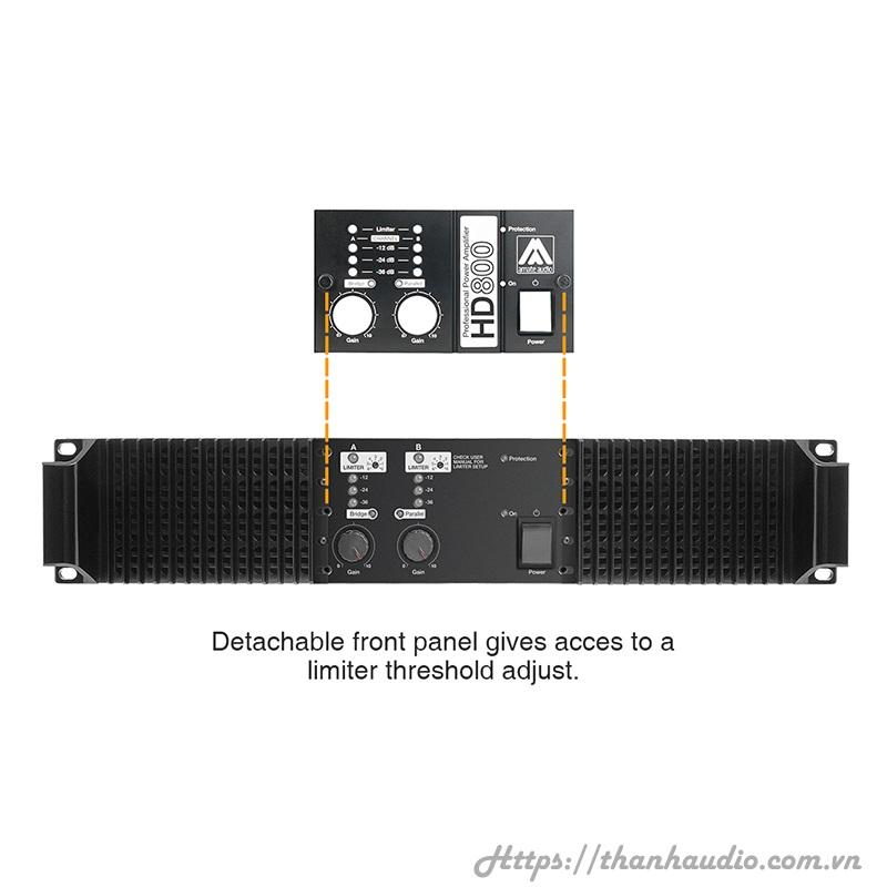 Cục đẩy công suất Amate Audio HD 800