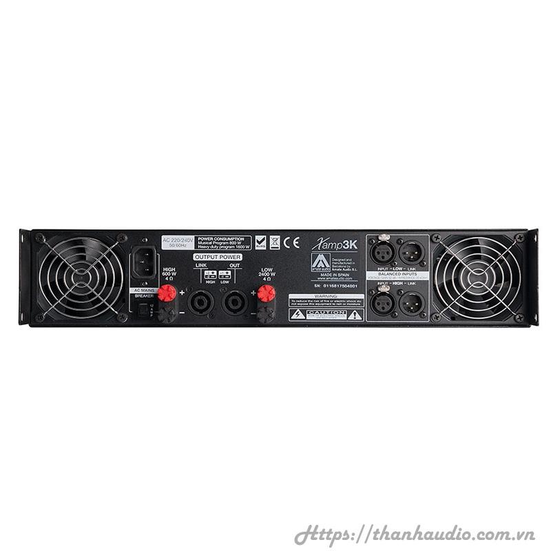 Cục đẩy công suất Amate audio xamp3K