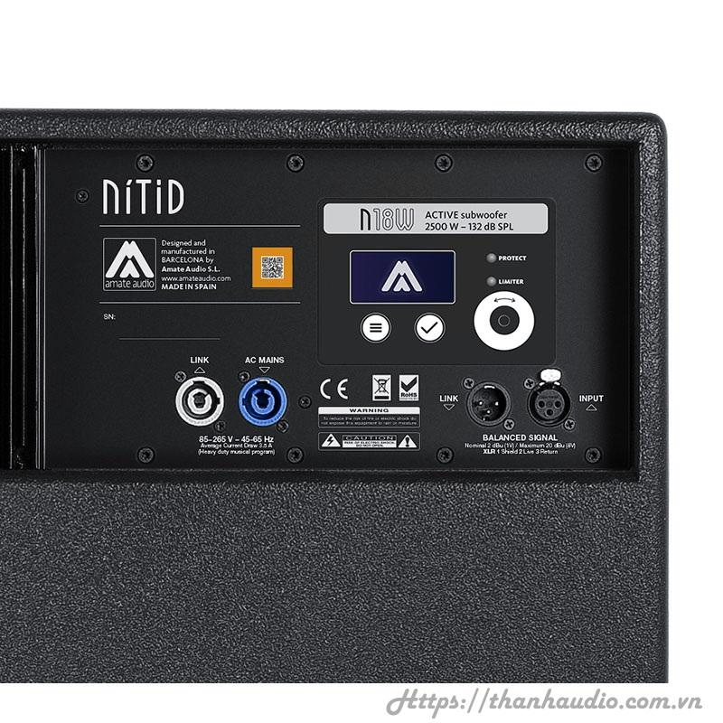 Amate audio Nitid N18W