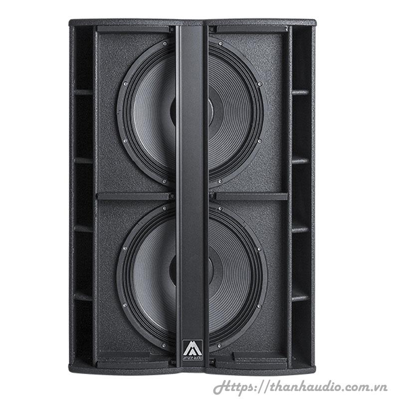 Loa Amate audio Nitid N218W - Sub Active