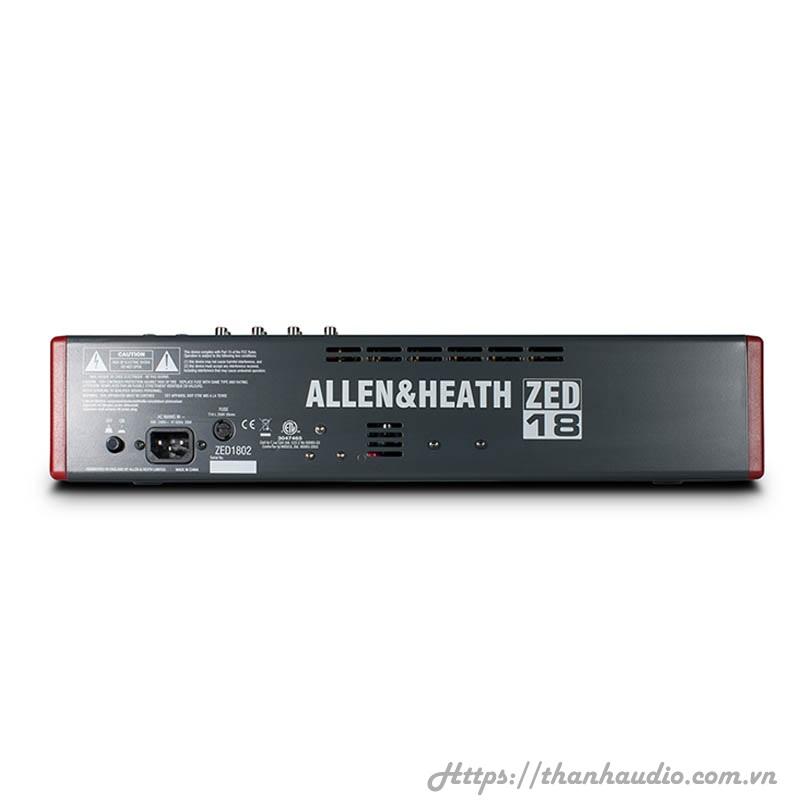Bàn Mixer Allen & Heath ZED 18
