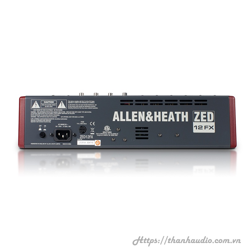 Bàn Mixer Allen & Heath ZED12FX