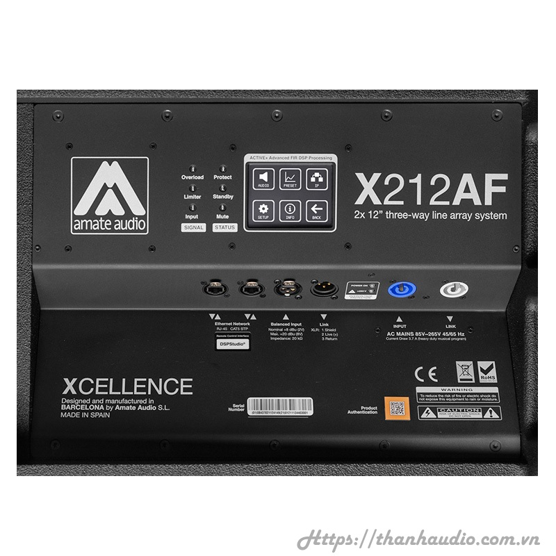 Audio Xcellence X212AFD
