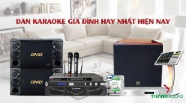Giá dàn karaoke chuyên nghiệp hiện nay khoảng bao nhiêu?