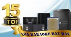 Những dòng loa karaoke cho phòng hát kinh doanh hay nhất hiện nay