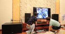Lắp đặt dàn karaoke gia đình cho Em Long, Nhổn - Từ Liêm - Hà Nội
