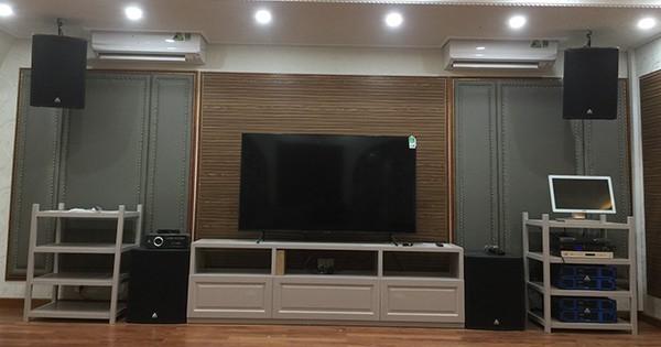 Lắp đặt karaoke gia đình Loa Amate Audio Tại Hà Nam