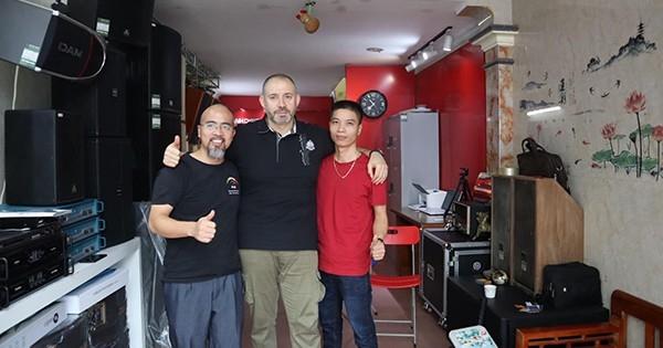Thành Audio Đón tiếp Giám đốc bán hàng Pro Faital từ Italia sang thăm Việt Nam