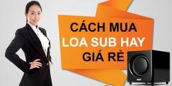 Cách chọn loa Sub, Loa siêu trầm karaoke hay nhất, mua dược rẻ nhất