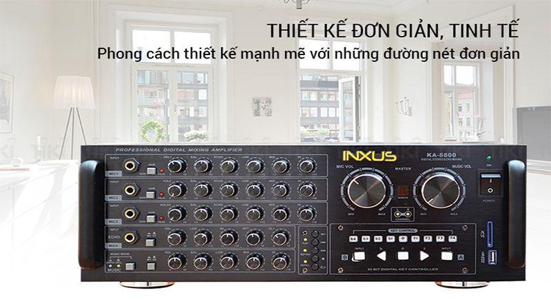 Ampli karaoke Inxus KA 6800