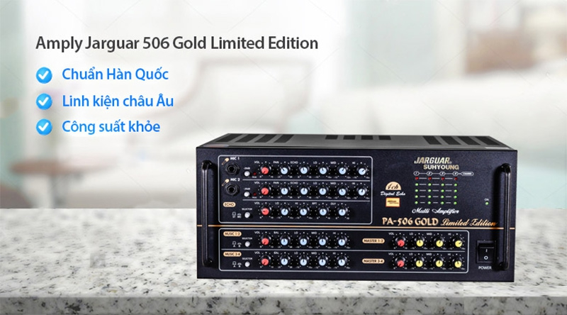 Jarguar PA 506 Gold Limited Edition