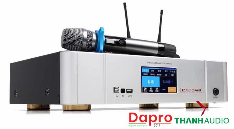 Digital Karaoke Power Amplifier DAPRO DKA 8500