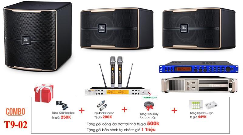 Bộ dàn karaoke gia đình JBL T9-02